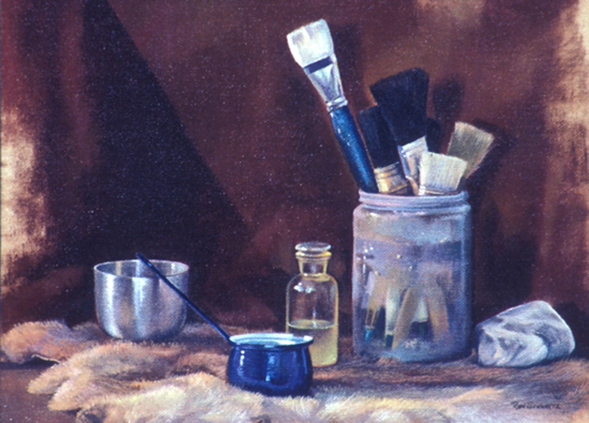 Brushes & Containers