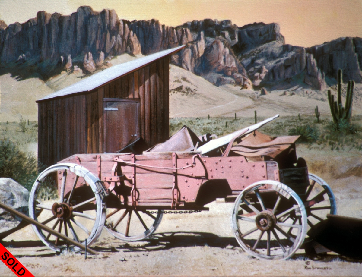 Goldfield Wagon