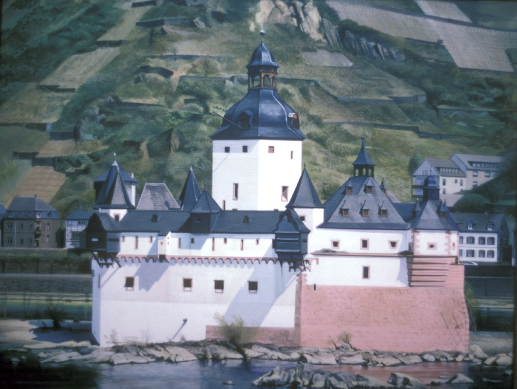 Rhine River Toll Castle